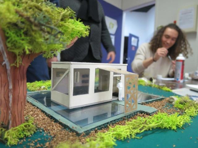 2018 – Bains chauds à tous les étages - Workshop design d'espace