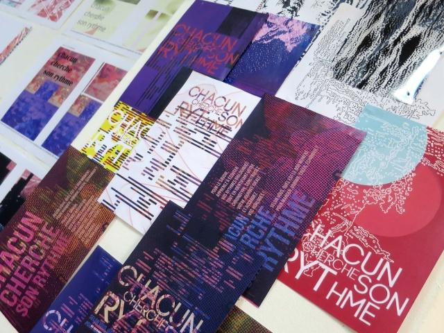 2018 - Chacun cherche son rythme - Workshop Bachelor Design Graphique & Digital
