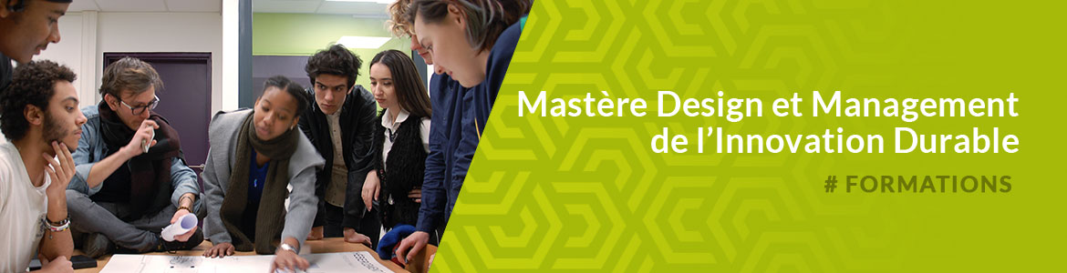 , Master Sustainable Design Management - Mastère Design Management & Développement Durable